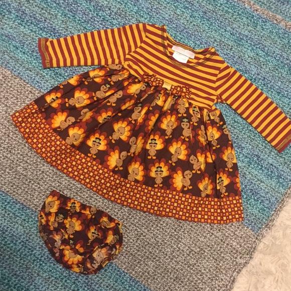 Bonnie Baby Dresses Turkey Dress Poshmark